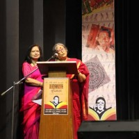 Pranati Thakur was the MC for the second evening