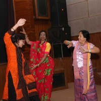 Our guests spontaneously danced to the tunes of Bengali folk songs