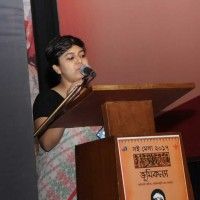Debleena Tripathi was the MC on the first evening