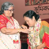 Welcoming Shefali Deb Barma, Kokoborok poet